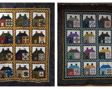 Barns With A Twist Quilt Photo