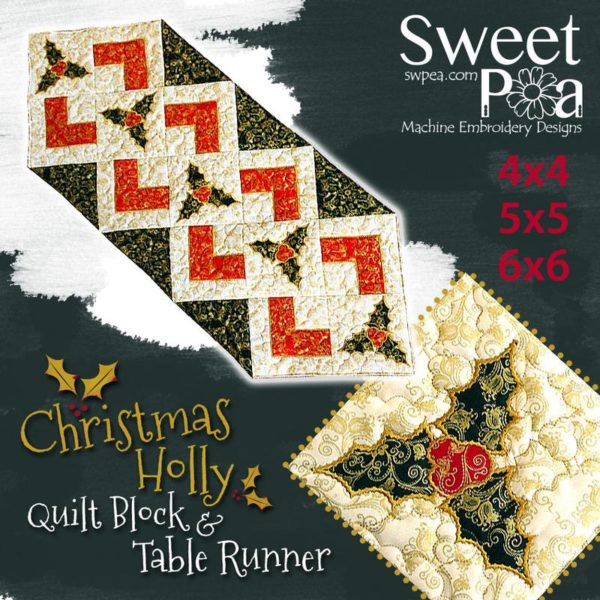 Sweet Pea Christmas Runner
