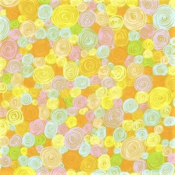 rolled paper yellow