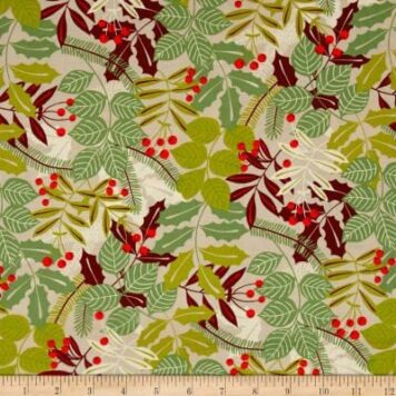 Christmas Time – Pine Berry – Beige